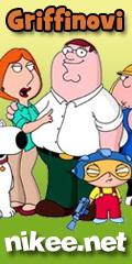 NIKEE Griffinovi - Family Guy online na nikee.net