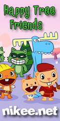 NIKEE Happy Tree Friends - videa, hry, tapety, epizody na nikee.net