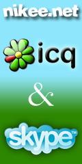 NIKEE ICQ-SKYPE na nikee.net