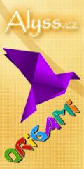 ALYSS Origami - naucte se skladat papir, navody, galerie na alyss.cz