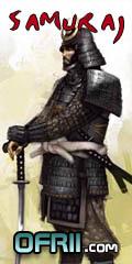 ORFII Samuraj, cesta mace, umeni valky - ofrii.com
